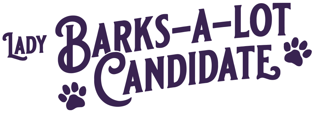 Lady Barks-a-Lot Candidate Header