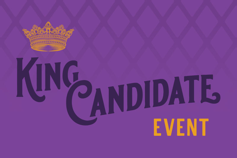 King Candidate Event